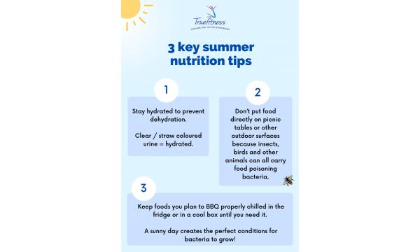 3 key summer nutrition tips