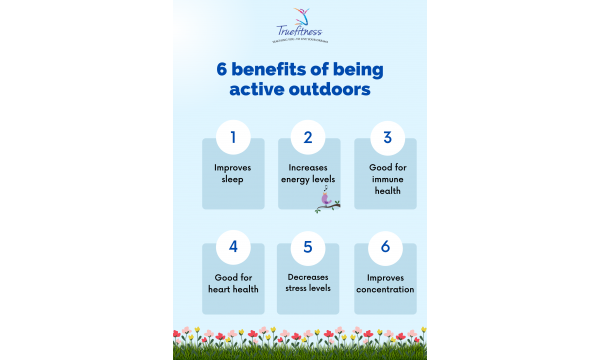 6 benefits of being active outdoors