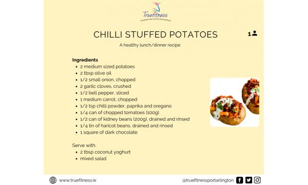 Chilli Stuffed Potatoes