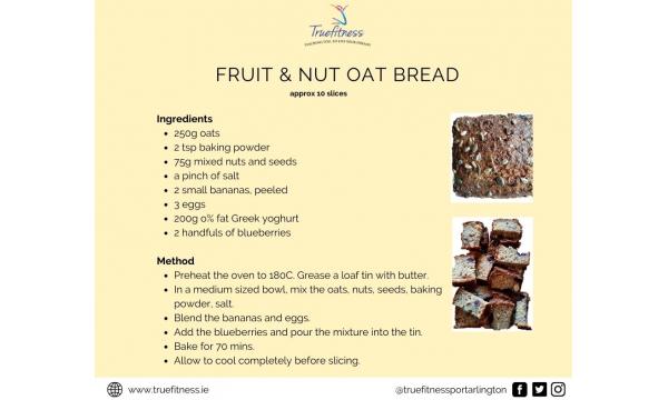 Fruit & Nut Oat Bread