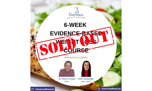 SOLD OUT - 6-week weight loss course