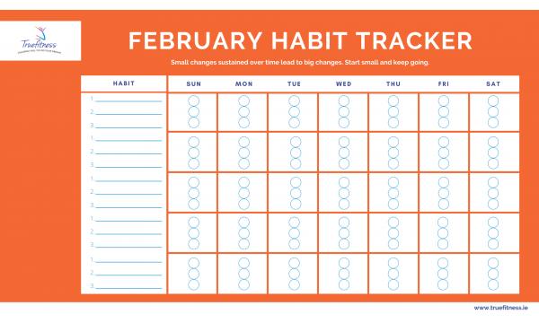 February '21 Habit Tracker
