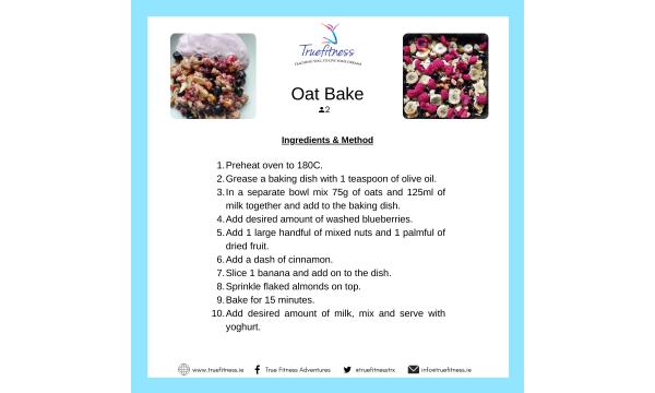Breakfast Oat BakeRecipe