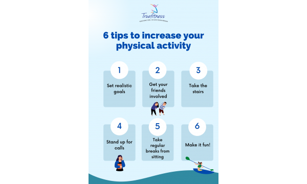 6 tips to increase your physical activity