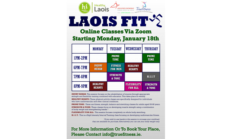 laois-fit-exercise-timetable